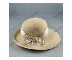 Masnis drapp női kalap