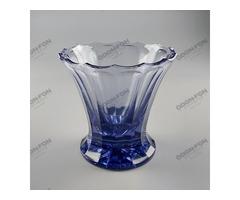Art-deco üveg váza