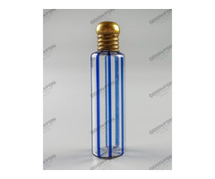 Csíkos parfümös üveg