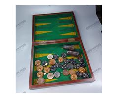 Backgammon játékkészlet