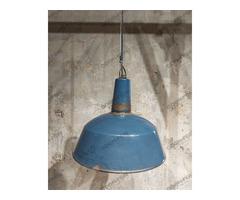Nagy kék EKA ipari lámpa