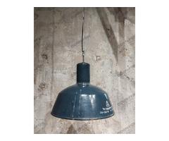 Nagy EMAX kék ipari lámpa