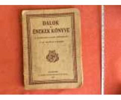 Daloskönyv 1927-ből