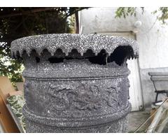 Antik kályha,fellelt állapitú