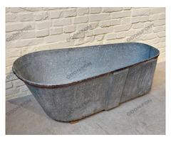 Fürdőkád vaslemez pánttal