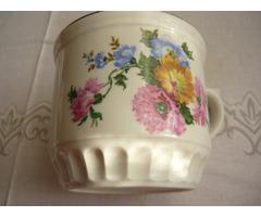 Rózsás porcelán bögre