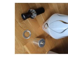 Függő lámpa üveg burával