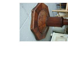 Originál antik eredeti bieder körasztal.