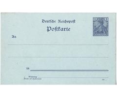 Levelezőlap Német birodalom 1902