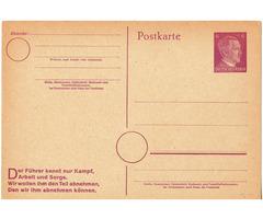 Filatéliai termék Német Birodalom 1944