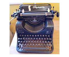Olympia MOD 8 mechanikus írógép