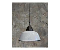 Vas-Fém Szarvasi ipari (fehér) lámpa