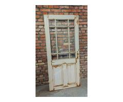 Üveges ajtó kazettás betéttel