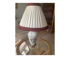 Antik porcelán lámpa