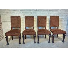 Neoreneszánsz szék - 4 db