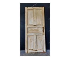 Fehér kazettás ajtó