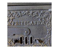 Friedland-i kályha ajtó kerettel