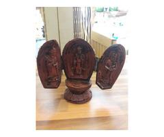 Összecsukható, 3 királyok zsírkő szobor !