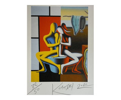 Mark Kostabi (1960) - Marguerite álmodozása