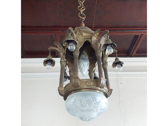 Antik Bronz Csillár eladó