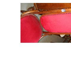 Hat darab magas támlás Thonett szék.