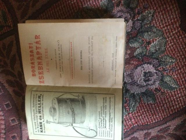 Borászati zsebnaptár 1913 évre