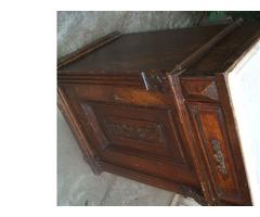 Éjjeli szekrény, kis szekrény, antik darab