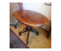 Neobarokk asztal eladó