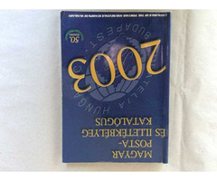 Bélyegkatalógus 2003